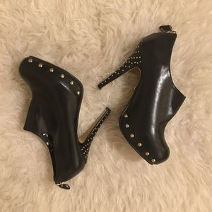 Shoes - Edgy studded heels
